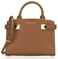 Authentic MICHAEL KORS KARLA EW Luggage Small Satchel Crossbody Purse Bag $348