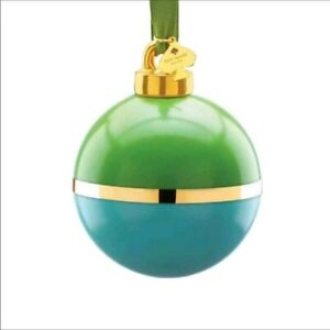 Kate Spade New York Be Merry Be Bright Green / Blue Ornament NIB