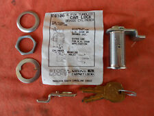 National Key Cam Lock Cabinet 1 7/16 Length PIN TUMBLER Chrome