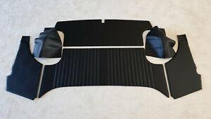 Fiat 850 Spider Verkleidung Seitenverkleidung hinten Verdeckkasten 6-teilig NEU
