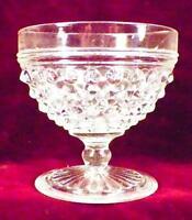 Anchor Hocking Hobnail Sherbet Clear Pressed Glass Vintage