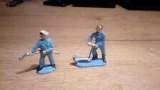 lot figurine plastique plastic figure starlux 1:48e garagiste mechanic man