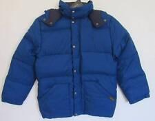 Ralph Lauren Boys Old School Blue Down Puffy Jacket (M-10/12) NWT