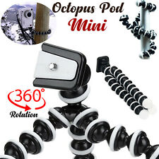 Universal Mini Octopus Flexible Tripod Mobile Stand Holder Mount iPhone Samsung