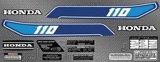 1982 82' honda atc 110 ATC vintage gas tank 14pc kit Graphics decal stickers ATV