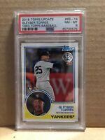 Gleyber Torres 2018 Topps Update 1983 RC #83-16 PSA 8 NM-MT Yankees