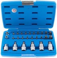 Innen Torx Steckschlüssel 27-tlg Bit Satz Nüsse Set Bits Steck Nuss Werkzeug T70