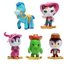 Sheriff Callie's Wild West Playset 5 Figure Cake Topper * USA SELLER* Toy Doll