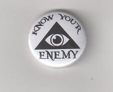 Know your enemy Nº 1 Button Anti mondialistes/images Berger/ILLUMINATI/new world order