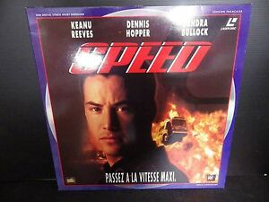 Laserdisc, Speed, Very Good Condition! Complete