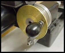 "Index Plates 1/8"" x 3.6 Dia. Sherline - Watchmaker lathe - Clock Wheels USA"