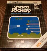 SPACE JOCKEY. Rare Atari 2600 video game by Vidtec complete in box