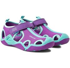Children's shoes Geox Respira J Wader G A Lycra&DBK Size Uk11 New Free Delivery