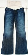 7 FOR ALL MANKIND WOMEN'S SIZE 28 PEA IN A POD JEANS WITH FULL SUPPORT PANEL!