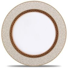 Noritake Odessa Gold Accent Plates, Set of 4