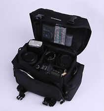 Portable Camera Case Canon Gadget Shoulder Carry Bag 2400/9361 Black DSLR Travel