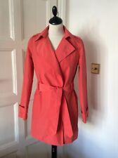 ZARA Women's Coral Trench Coat Mac Jacket Duster Coat S/10