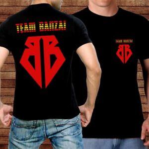 Buckaroo Banzai T-shirt Team Banzai dbl sided jersey style tee