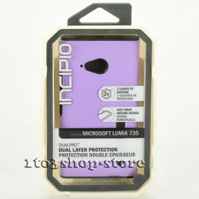 Incipio Dualpro Microsoft Nokia Lumia 735 2-Layers Shockproof Case Purple/Black