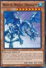 WHITE NIGHT DRAGON x3 Yugioh MINT Rise of the True Dragons 3x cards 1st