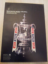 2004 FA Cup FINAL MANCHESTER UNITED v MILWALL