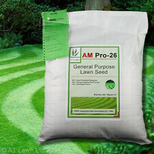 A1LAWN AM PRO-26 GENERAL PURPOSE LAWN GRASS SEED 10kg (DEFRA certified)