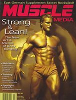 JULY 1997 MUSCLE MEDIA -  body building -weight lifting - magazine