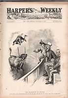 1896 Harper's Weekly September 26-Mexico and free silver;kite photos of Boston;
