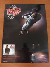 MICHAEL JACKSON - Bad 25th Anniversary (2sided) [OFFICIAL] POSTER *NEW*