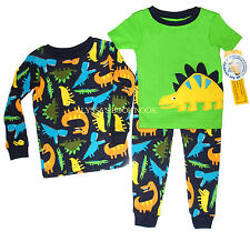 CARTER'S ~HUNGRY DINOSAURS 3PC PAJAMA SET~ INFANT SZ 24M