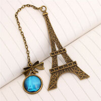 Eiffel Tower Metal Bookmarks For Book Creative Item Kids Gift Statione EL