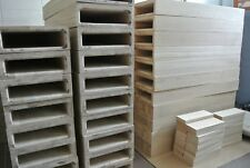 european oak stair treads for floating staircase - bespoke sizes - TOP QUALITY