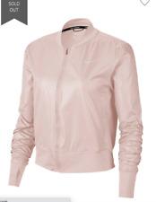 New listing NWoT NIKE Running Pink Bomber Jacket Women's Size L