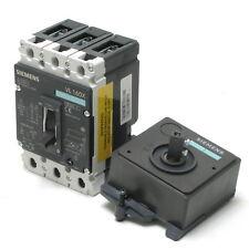 Siemens VL160X H 415V 125-160A 3-pole Circuit Breaker, 3VL1716-2DD33-0AA0