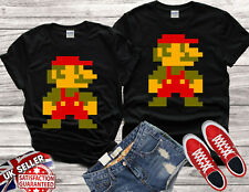 Mario Yoshi Gamer Retro Gaming Design SNES Men Women Unisex T-shirt Vest Top V41