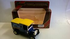 MATCHBOX 1:35 AUTO DIE CAST FORD MODEL T 1912 BLU SCURO ROSELLA ART Y-12  Y12