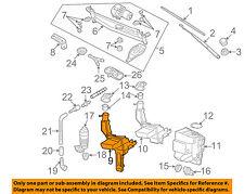 VW VOLKSWAGEN OEM Passat Wiper Washer-Windshield Fluid-Reservoir Tank 3C0955453P