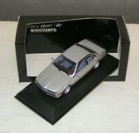 BMW 6er Reihe E24 - BMW 635 CSi silver 1982-1987 - Minichamps 1:43