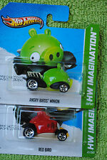 2012 Hot Wheels Angry Bird Twin Pack