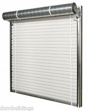 Duro STEEL JANUS 8' Wide by 14' Tall 1950 Series Insulated Roll-up Door DiRECT