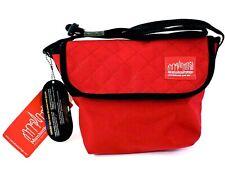 Manhattan Portage Quilted Messenger Bag Shoulder Bag XXS - Red