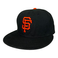 San Francisco Giants New Era 59FIFTY MLB On Field Cap Made in USA Hat Size 7 1/4