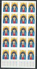 Australia Madonna&Child-Christmas 2009-Selfadhesive Booklet stamps MNH