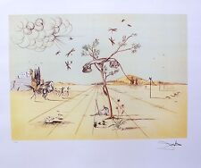 Salvador Dali DISEMBODIED TELEPHONE Signed Limited Edition Lithograph