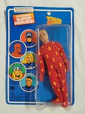 "MEGO 1979 WORLDS GREATEST SUPER HEROES 8"" HUMAN TORCH ON FRENCH CARD (Original)"
