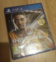 NBA Live 14 BasketBall  PS4 Game NEW UK PAL for Sony Playstation 4 Basket Ball