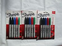 Sharpie Permanent Fine-Point Markers, $17.97, Assorted Colors, Pack Of 5,3 Packs