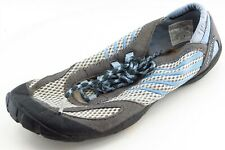 Merrell barefoot Size 7.5 M Gray Lace Up Running Fabric Shoes