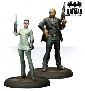 Batman Miniature Game Pain & Money Reinforcements NIB