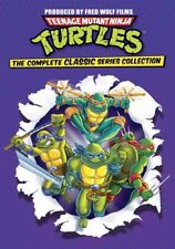 Teenage Mutant Ninja Turtles: The Complete Classic Collection (DVD,2012)
